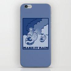 Make It Rain iPhone & iPod Skin
