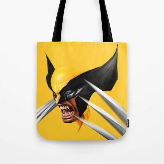 BLACK AND YELLOW Tote Bag