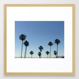 palm springs, I love you Framed Art Print