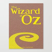 wiz khalifa Canvas Prints featuring Wiz by Megan Oliveri Designs