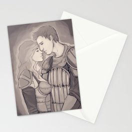 Dragon Age Origins - Alistair x Cousland Stationery Cards