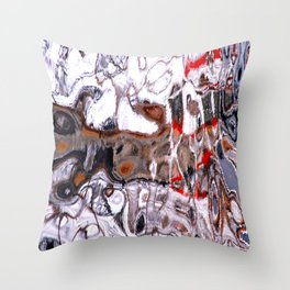 Kaskelot Reflections Throw Pillow