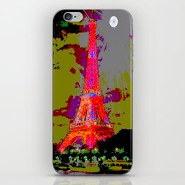 Paris Totes and Throws Pillows on the Chaise Lounge iPhone Skin