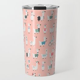 Cool llamas Travel Mug