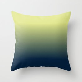 Afternoon Sonata in Blue Throw Pillow