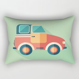 Toy Retro Car Rectangular Pillow