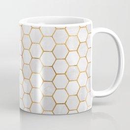 Geometric Hexagonal Pattern Coffee Mug