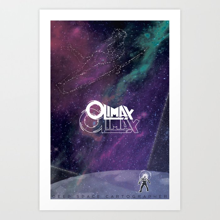 Olimax's Surfer Dream... or a Memory? Art Print