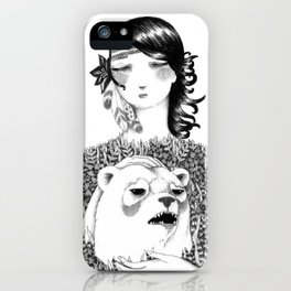 Conquering the Inner Beast iPhone Case