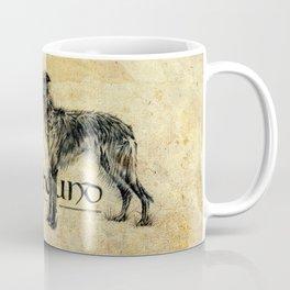 Scottish Deerhound Antique A Coffee Mug