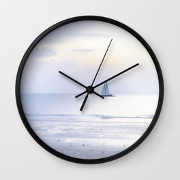 Another sunset on the North Sea... Wall Clock
