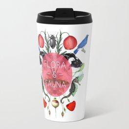 Flora & Fauna Travel Mug