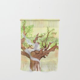 The concentrated Lady of the Oak Wall Hanging