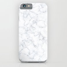 White Marble iPhone 6s Slim Case