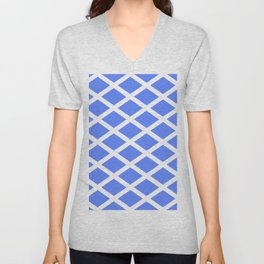 abstraction from the flag of scotland. Unisex V-Neck