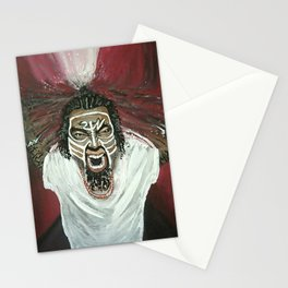 Tech N9ne Painting in Acrylics Stationery Cards