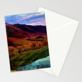 Autumn is Colorful Stationery Cards