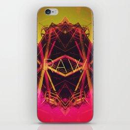R.A.W. iPhone Skin