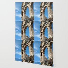 pula croatia ancient arena amphitheatre high Wallpaper