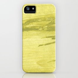 Green khaki iPhone Case