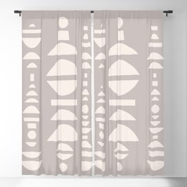 SHAPEY Blackout Curtain