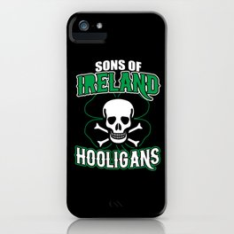 Sons Of Ireland iPhone Case