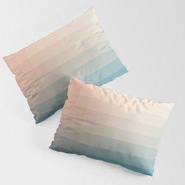 Lumen, Turquoise and Pink Glow Pillow Sham
