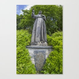 Pio of Pietrelcina Canvas Print