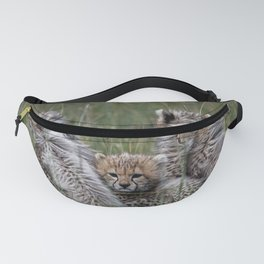 Patient Baby Cheetahs Fanny Pack