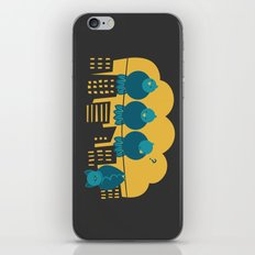 Three plus one iPhone Skin