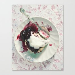 Scone and Jam Canvas Print