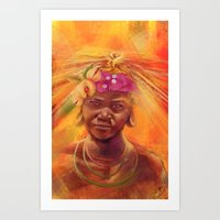 spice Art Prints featuring Spice Kid by The Art of Vancuf