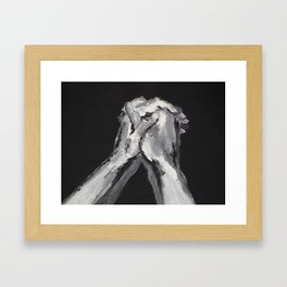 Abstract Prayer by Robert S. Lee Framed Art Print