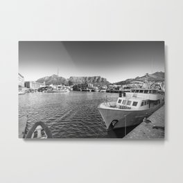 Victoria and Alfred Waterfront in Cape Town, South Africa Metal Print