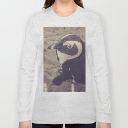 Adorable African Penguin Series 2 of 4 Long Sleeve T-shirt