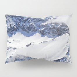 """Big mountains"". Aerial photography Pillow Sham"