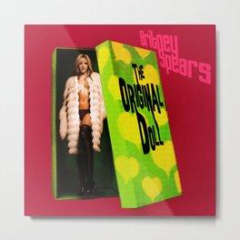 "Britney Spears ""The Original Doll"" Metal Print"