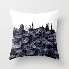 Sheffield Skyline Great Britain Throw Pillow