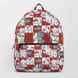 Kitchen Tools Check Backpack