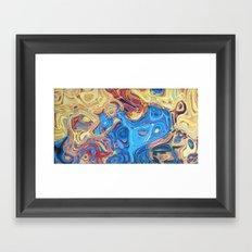 SUMMER SORROW Framed Art Print