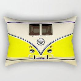 YELLOW minibus lovebug iPhone 4 4s 5 5c 6 7, pillow case, mugs and tshirt Rectangular Pillow
