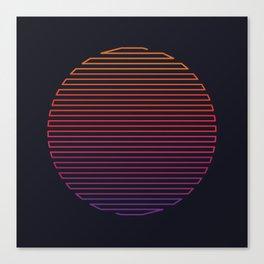 Linear Light Canvas Print