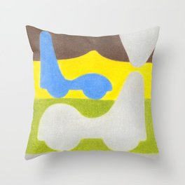 Dripstone Car Throw Pillow