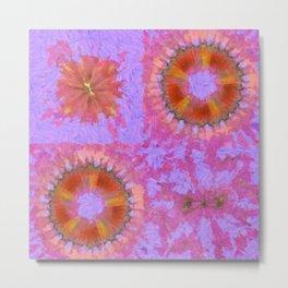 Asymptomatic Relation Flower  ID:16165-082258-08930 Metal Print