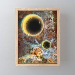Crescent Mead Moons Framed Mini Art Print