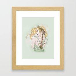 Virgo Framed Art Print