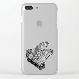 Flight Despite Despair ~ Black Clear iPhone Case