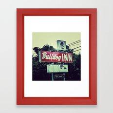 Bulldog Inn Framed Art Print