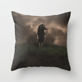 A Force to be Reckened With Throw Pillow