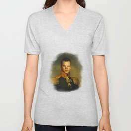 Matt Damon - replaceface Unisex V-Neck